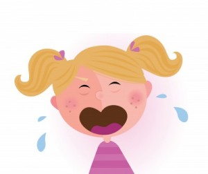 product listing ads girl crying